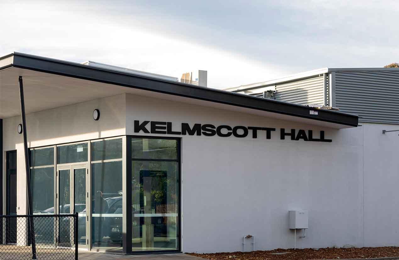 External of Kelmscott Hall