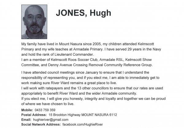 Jones Hugh - River ward