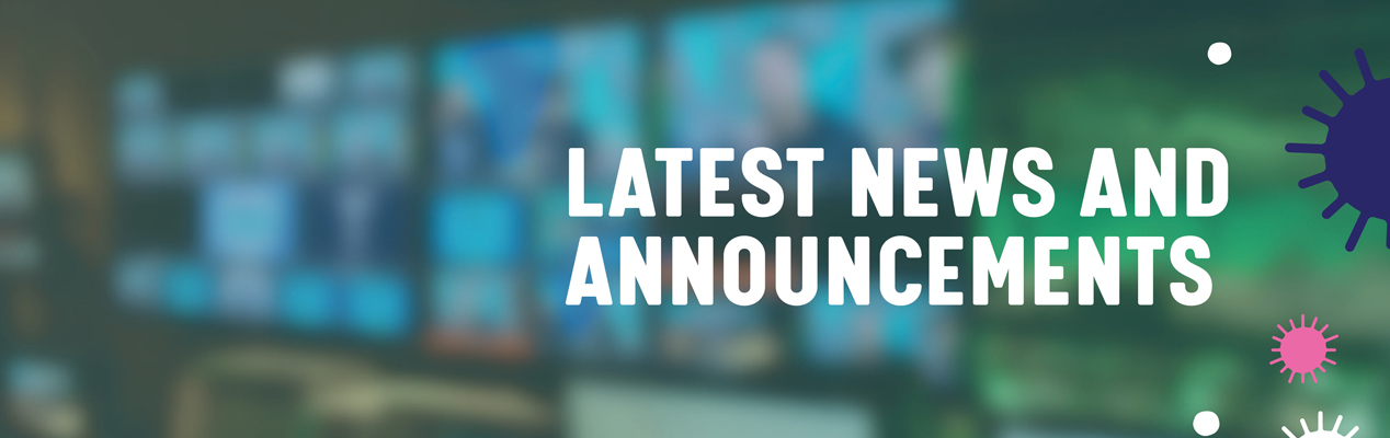 Latest news and announcements