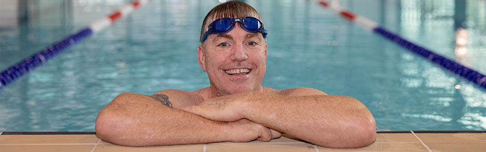 Swimmer in Armadale Fitness and Aquatic Centre