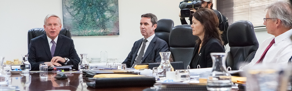 Cabinet meeting image