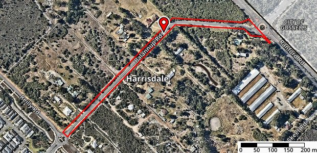 Balannup Road Map Image