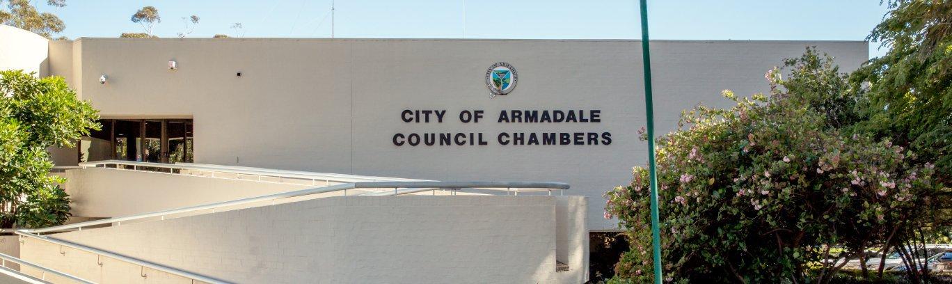 City admin building