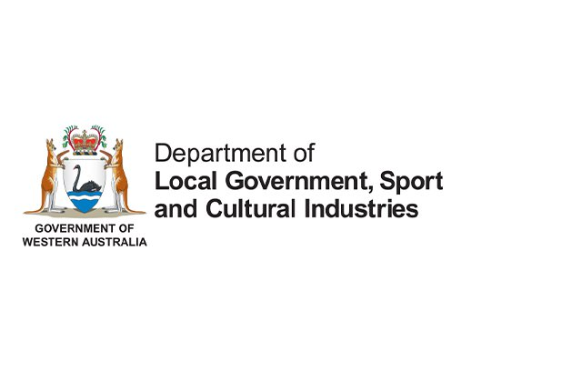 Department of Local Government, Sport and Cultural Industries logo