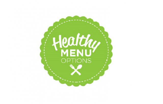 Healthy menu options logo
