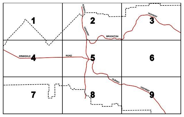 Town Planning Scheme Maps