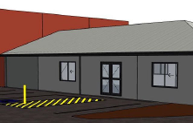 Bedfordale fire station initial sketch