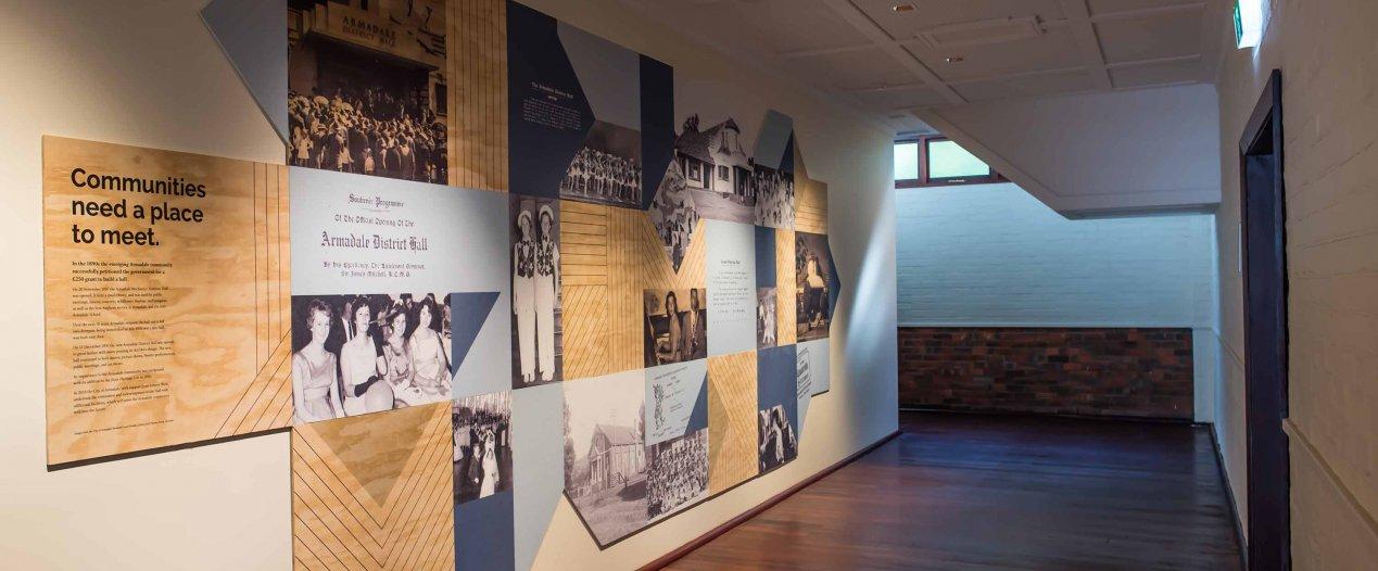 History Art Display