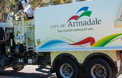 Waste collection in City of Armadale