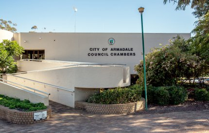 City's main administration building