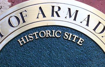 Historic site plaque