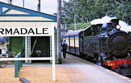 Armadale train line