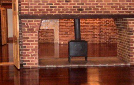 an image of a fireplace