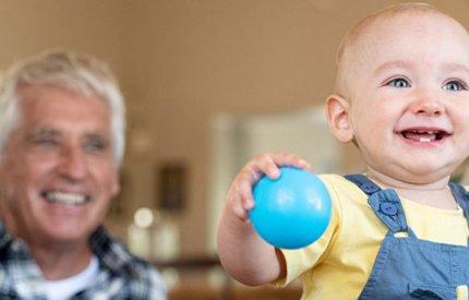 Grandparents - toddler romp image
