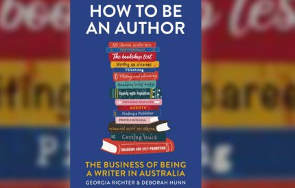 How to be an author book