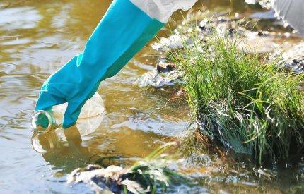 an image of water sampling