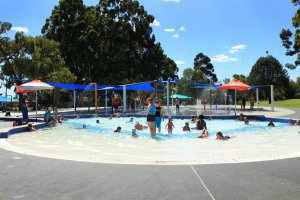 Aquatic Centre Splash Town and toddler pool