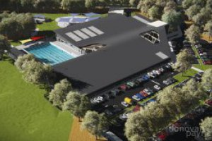 Armadale Fitness & Aquatic Centre concept plan aerial picture