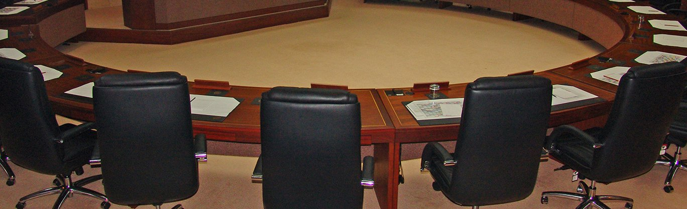 Council meeting room