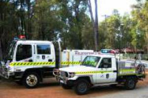 Emergency vehicles.