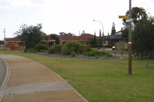 Footpath and verge image