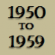 1950 to 1959 timeline of City of Armadale history