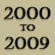 2000 to 2009 timeline